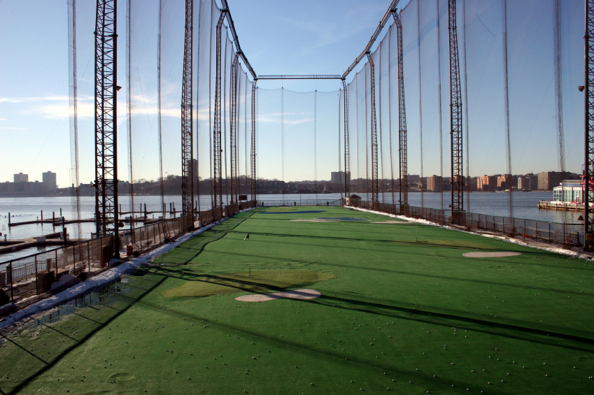 ElecComm Golf driving range netting