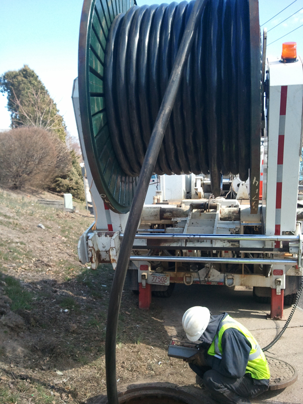 ElecComm - Underground high voltage cable installation in Boston, MA